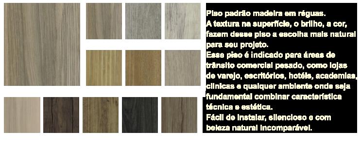 Modelos de pisos vinílicos